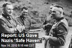 Report: US Gave Nazis 'Safe Haven'