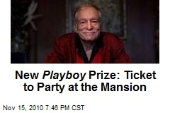 New Playboy Prize: Ticket to Party at the Mansion