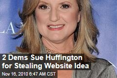 Lawsuit: Huffington Stole Our Website Idea
