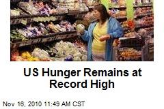 US Hunger Remains at Record High