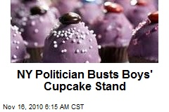 Cupcake Stand Busted, Boys Frosted