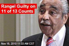 Rangel Guilty on 11 of 13 Counts