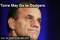 Torre May Go to Dodgers