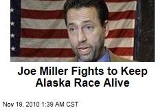 Miller Fights to Keep Alaska Race Alive