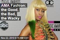AMA Fashion: the Good, the Bad, the Wacky