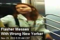 Flasher Messes With Wrong New Yorker