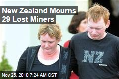 New Zealand Mourns 29 Lost Miners