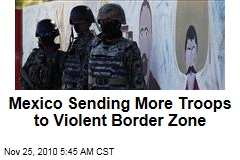 Mexico Sending More Troops to Border Zone