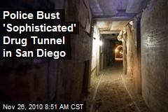 Police Bust 'Sophisticated' Drug Tunnel in San Diego