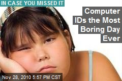 Computer IDs the Most Boring Day Ever