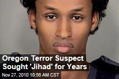 Oregon Terror Suspect Sought 'Jihad' for Years