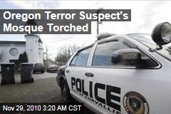Terror Suspect's Mosque Torched