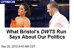 What Bristol's DWTS Run Says About Our Politics