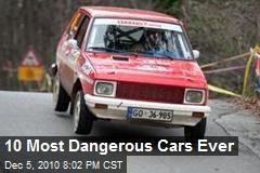 10 Most Dangerous Cars Ever