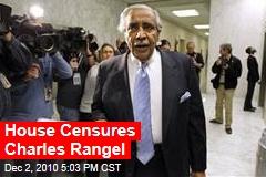 House Censures Charles Rangel