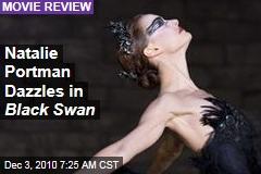 Natalie Portman Dazzles in Black Swan