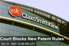 Court Blocks New Patent Rules