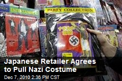 Japanese Retailer Agrees to Pull Nazi Costume