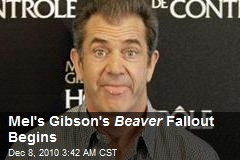 Mel's Gibson's Beaver Fallout Begins