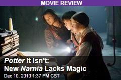 Potter It Isn't: New Narnia Lacks Magic