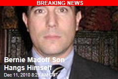 Bernie Madoff Son Dead in Apparent Suicide