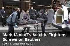 Screws Tighten on Madoff's Surviving Son