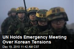 UN Holds Emergency Meeting Over Korean Tensions