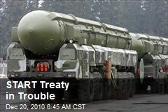 START Treaty in Trouble