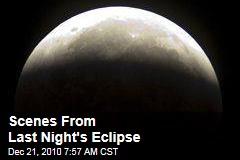 Scenes From Last Night's Eclipse