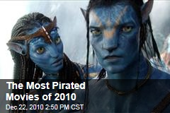 The Most Pirated Movies of 2010