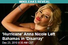 'Hurricane' Anna Nicole Left Bahamas in 'Disarray'