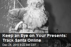 Track Santa online, courtesy of NORAD