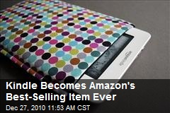 Kindle Becomes Amazon's Best-Selling Item Ever