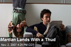 Martian Lands With a Thud