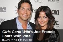 'Girls Gone Wild' Joe Francis Splits with Wife