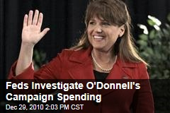 Feds Investigate O'Donnell's Campaign Spending