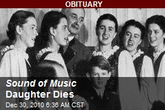 Sound of Music Daughter Dies