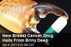 New Breast Cancer Drug Hails From Briny Deep