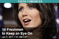 Freshmen Legislators to Keep an Eye On