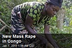 New Mass Rape in Congo