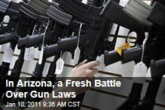In Arizona, a Fresh Battle Over Gun Laws