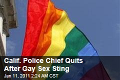 Palms Springs Police Chief Quits After Gay Sex Sting