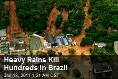 Heavy Rains Kill Hundreds in Brazil