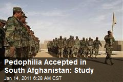 Pedophilia Accepted in South Afghanistan: Study