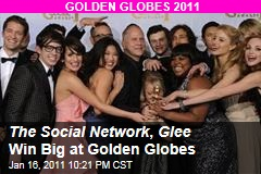 The Social Network , Glee Win Big at Golden Globes