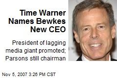 Time Warner Names Bewkes New CEO