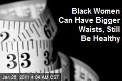 Healthy Waistlines Could Be Bigger for Black Women