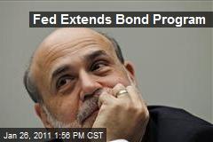 Fed Extends Bond Program