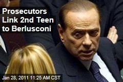 Prosecutors Link 2nd Teen to Berlusconi
