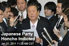 Democratic Party of Japan's Ichiro Ozawa Indicted